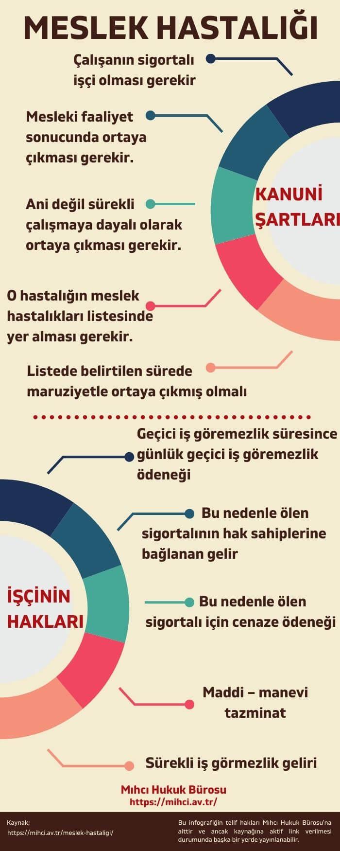 meslek hastaliği infografik